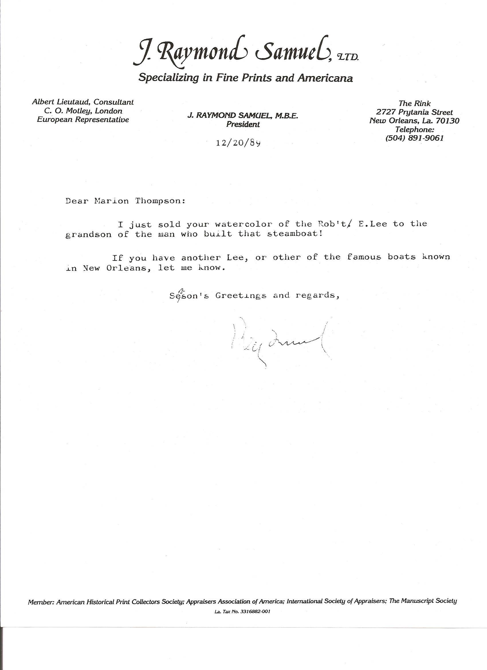 In the press marion sue bradford thompson view letter kristyandbryce Image collections